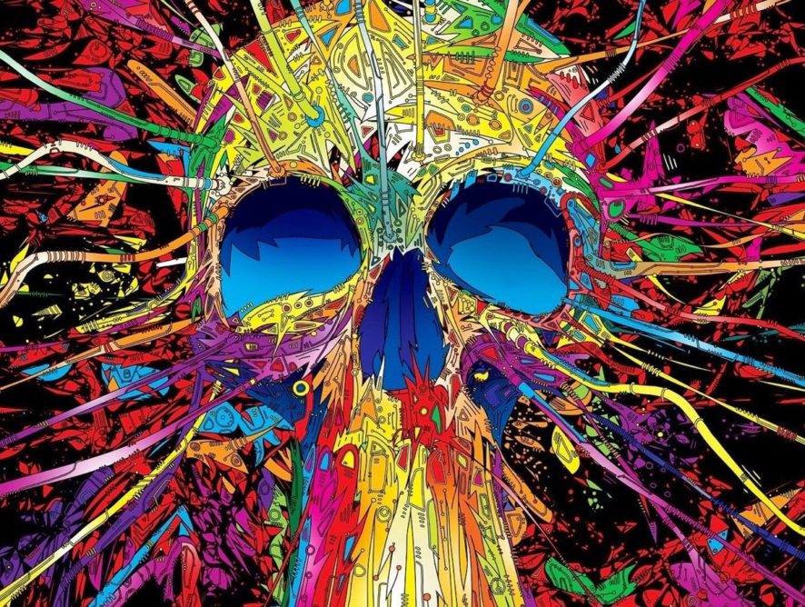 Death (in Technicolor): There is Someone Else in my Head With Me