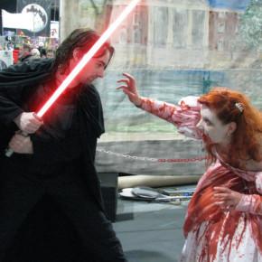 El Mejor Cosplay del Mundo - Jedi vs Zombie