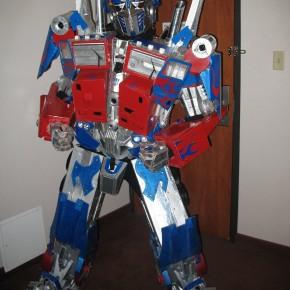 El Mejor Cosplay del Mundo - Optimus Prime