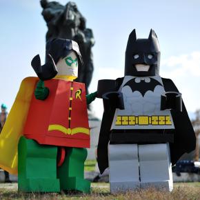 El Mejor Cosplay del Mundo - Lego Batman