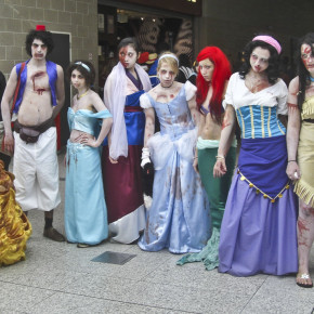 El Mejor Cosplay del Mundo - Princesas de Disney zombie