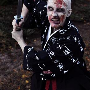 El Mejor Cosplay del Mundo - Samurai zombie