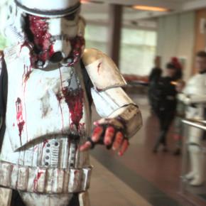 El Mejor Cosplay del Mundo - Stormtrooper zombie