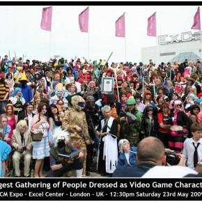 El Mejor Cosplay del Mundo - Mayor congregación de cosplayers