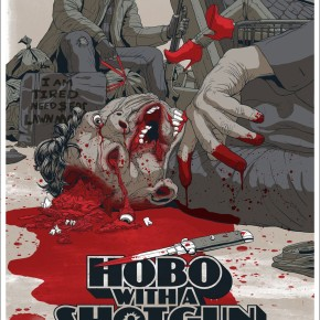Mondo Posters - HOBO WITH A SHOTGUN