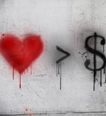 amor > dinero