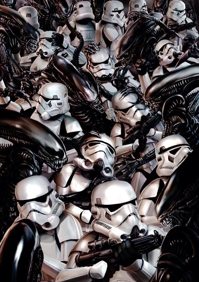 Stormtroopers vs. Aliens, de Robert Shane