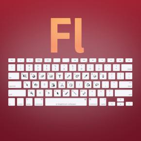 Adobe Flash CS shortcuts - Haz clic para ensanchar y guardar en alta resolución (2560x1440)