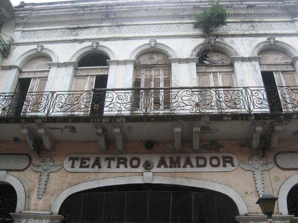 El Teatro Amador. Foto: Kimberly Klein