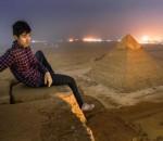 Fotografos rusos sobre Pirámide de Pisa 01