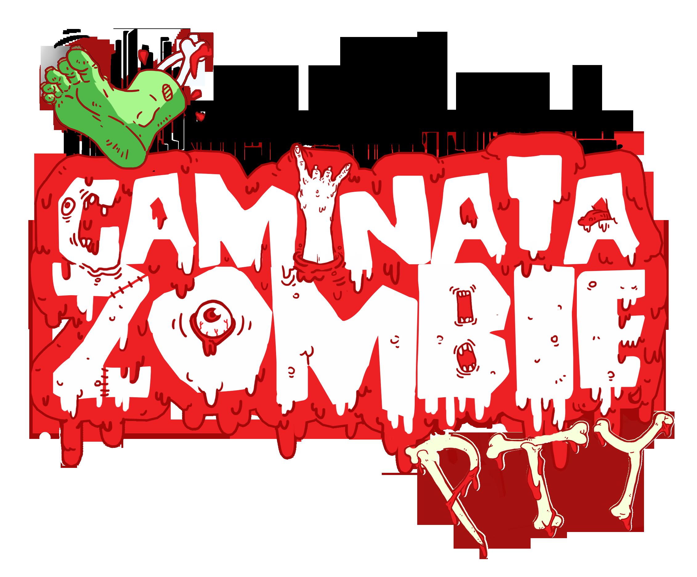 caminata zombie panama 2015 logo