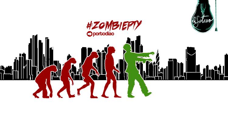 ¡Sígue la convocatoria en Facebook, Twitter e Instagram con el hashtag #zombiepty!